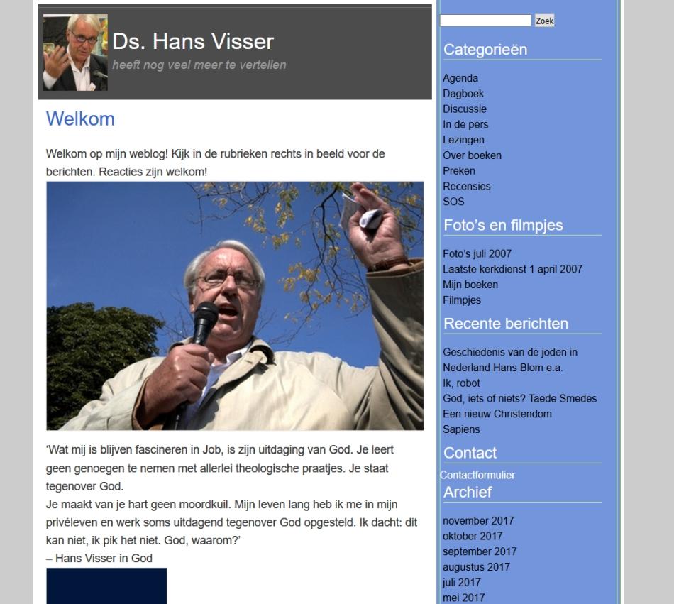 Dominee Hans Visser